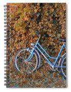 Blue Bike Spiral Notebook