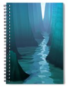 Blue Canyon River Spiral Notebook