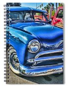 Blue Classic Hdr Spiral Notebook