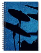 Blue Cymbalism  Spiral Notebook