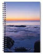 Blue Dawn Acadia National Park Spiral Notebook