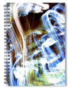 Blue Days Spiral Notebook