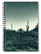 Blue Desert  Spiral Notebook