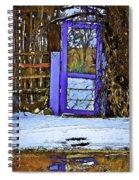 Blue Gate #24 Spiral Notebook
