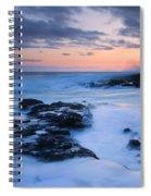 Blue Hawaii Sunset Spiral Notebook