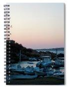 Blue Marina Paros Spiral Notebook