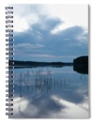 Blue Moment Spiral Notebook
