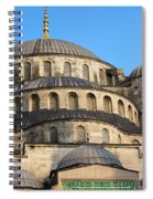 Blue Mosque Domes Spiral Notebook
