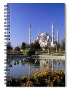 Blue Mosque, Sultanahmet, Istanbul Spiral Notebook