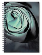 Blue On Blue Spiral Notebook