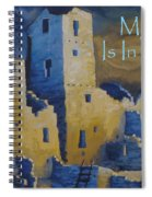 Blue Palace Greeting Card Spiral Notebook