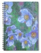 Blue Poppies Spiral Notebook
