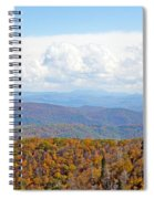 Blue Ridge Mountains In Fall Spiral Notebook