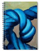 Blue Rope 2 Spiral Notebook