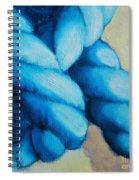 Blue Rope Spiral Notebook