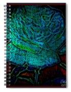 Blue Rose II Spiral Notebook