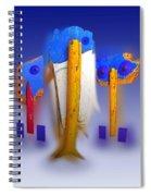 Blue Singers Spiral Notebook