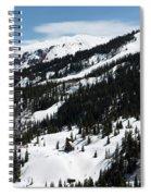 Blue Sky Miners Cabin Spiral Notebook