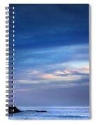 Blue Storm Spiral Notebook