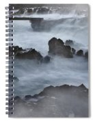 Blue Storm..protaras Spiral Notebook