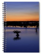 Blue Sunset Mangroves Spiral Notebook