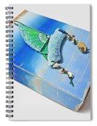 Blue Water Sailing Spiral Notebook