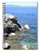 Blue Waters Of Lake Tahoe Spiral Notebook