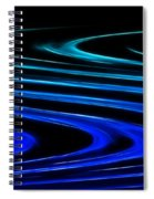 Blue Waves Spiral Notebook