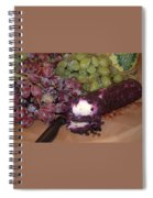 Blueberry Cheese Spiral Notebook