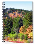 Blueridge Parkway View Near Mm 423 Spiral Notebook