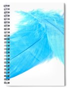 Blues Crossed Spiral Notebook