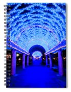 Blues Infinity Spiral Notebook
