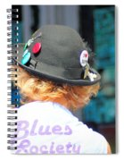 Blues Society Spiral Notebook