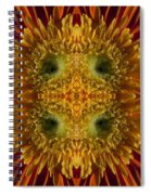 Blumen Art Spiral Notebook