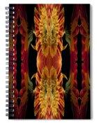 Blumen Kunst Spiral Notebook