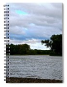 Blustery River  Spiral Notebook