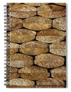 Boards In A Stack Spiral Notebook