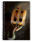 Boat - Block And Tackle II Spiral Notebook