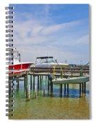 Boat Caddy Spiral Notebook