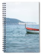 Boat In The Water Spiral Notebook