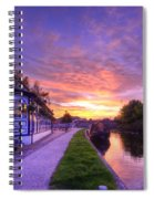 Boat Inn Sunrise 1.0 Spiral Notebook
