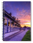 Boat Inn Sunrise 2.0 Spiral Notebook