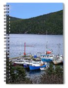Boat Lineup Spiral Notebook