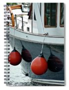 Boat Time Spiral Notebook