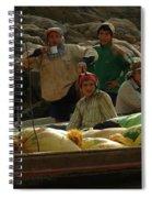 Boatmen In Laos Spiral Notebook