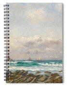 Boats At Sea Spiral Notebook