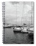 Boats Meeting Spiral Notebook