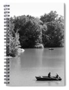 Boats On The Water Spiral Notebook