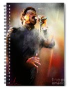 Bobby Kimball From Toto 01 Spiral Notebook