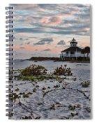 Boca Grande Sunset Spiral Notebook